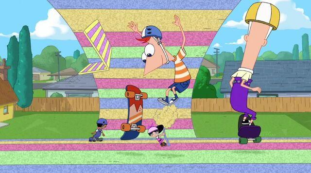 Tập tin:The gang skateboarding on foamtown.jpg