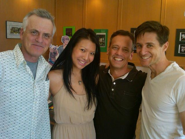 File:Dee Baker w Rob Paulsen, Gwendoline Yeo, & Yuri Lowenthal.jpg