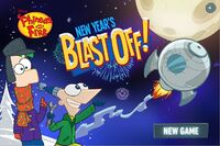 Menu - New Year's Blast Off!