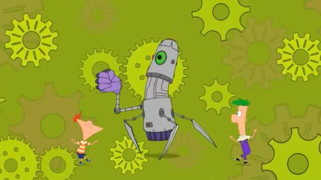 File:Dancing with an unusual robot - 2.JPG