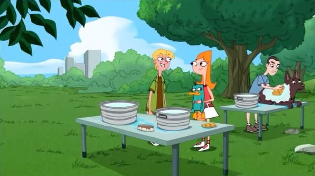 File:Candace and Jeremy arrive at the pet wash.jpg