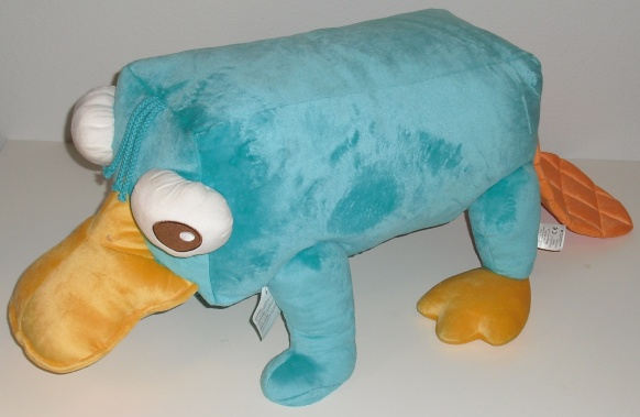 File:Perry the Platypus pillow - Disney Store.jpg