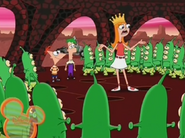 Candace teaches life lessons