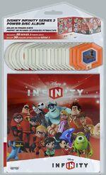 Disney Infinity Power Disc Album - Series 2 full set