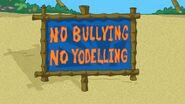 NoYodellingSign