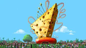 Cheese-topia revealed