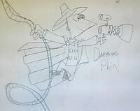Darkwing Phin, by DarkSkull12