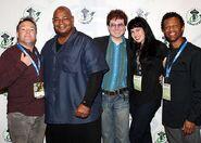 Richard Horvitz, Kevin Michael Richardson, Quinton Flynn, Grey DeLisle, & Phil LaMarr - ECCC 2013