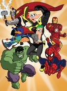 Mission Marvel Promotional Art