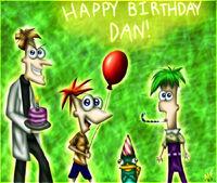 Happy Birthday Dan, by Honeysucle10