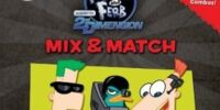 Phineas and Ferb: Across the 2nd Dimension Mix & Match