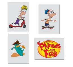 File:Phineas & Ferb Skateboard Decal Set.jpg