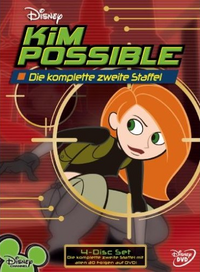 Kim Possible Season 2 DVD