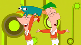 Phineas's fixed hair