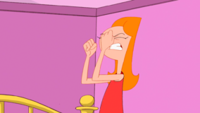 Candace getting frustrated