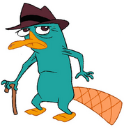 Perry the Old Platypus Promotional Image