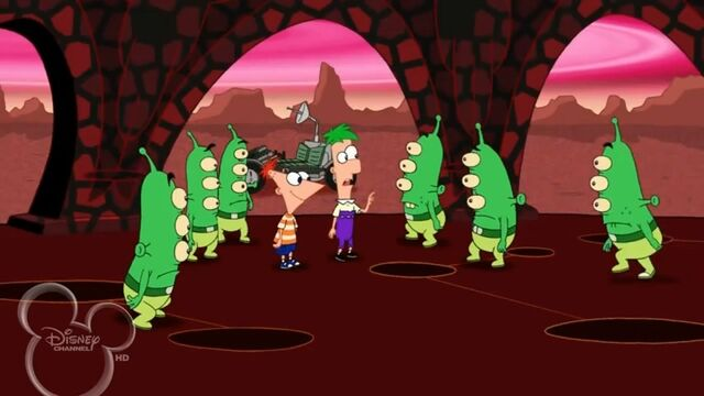 File:Ferb talking to the Martians.jpg