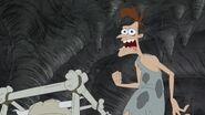 Caveman Doof telling backstory