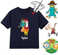 Create-Your-Own Navy Tee for Toddlers