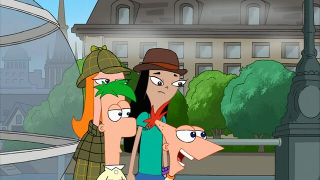 File:Phineas and Ferb walk past Candace and Stacy.jpg