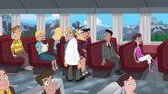 Doofensmirtz mingling with passenger (Sidetracked)