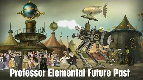Phineas and Ferb - Professor Elemental Future Past