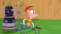 Phineas notice that Isabella is gone