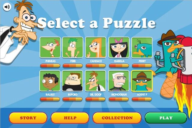 File:Find Perry - Puzzle Selection Menu (completed).jpg