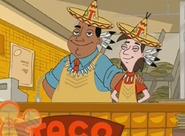 Fry guy at Taco tipi