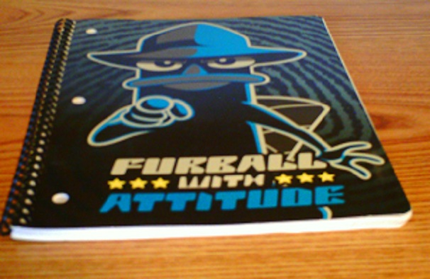 File:Phineas and Ferb notebook - Furball with attitude.jpg