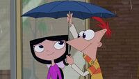I would've shared my umbrella