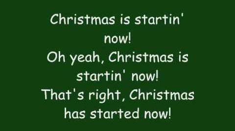 Phineas And Ferb - Christmas Is Starting Now Lyrics (Extended HQ)