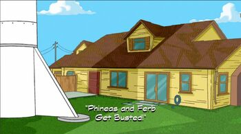 Phineas and Ferb Get Busted! title card