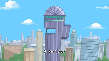 A Real Boy title card