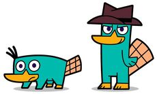 FOP Style - Perry the platypus and Agent P, by JaviDLuffy
