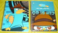 Phineas and Ferb 2012 notebooks 1