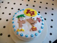 My 14th Birthday Cake, by Dooficles