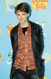 Thomas Sangster at press conference