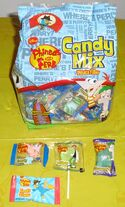 Phineas and Ferb Pinata Candy Mix