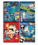 Phineas and Ferb Notebooks