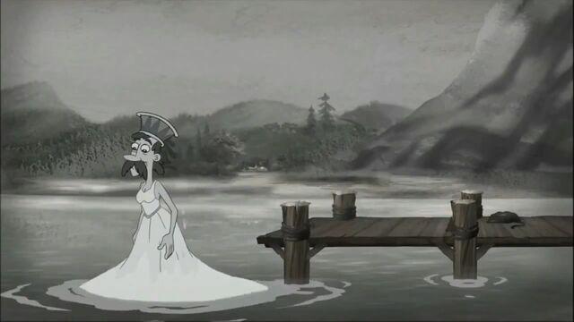 File:Gimmelshtump mayor in the water wearing a dress.jpg