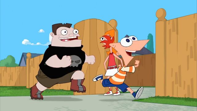 File:Phineas and Buford run past Candace.jpg