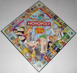 Monopoly P&F Collector's Edition board