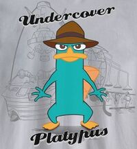 Undercover Platypus silver t-shirt