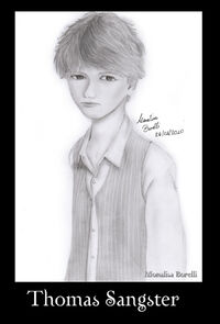 Thomas Sangster, by EllenMarieCurie