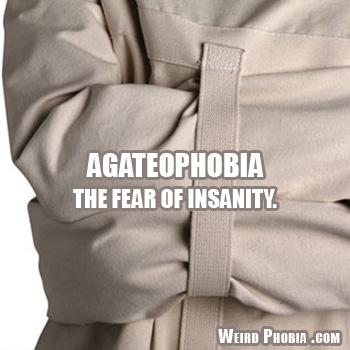 Agateophobia