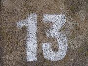No 13 - stencil