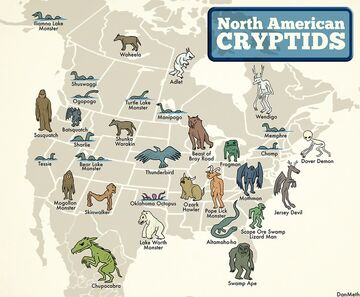 Map of Cryptid