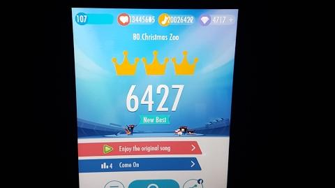 OMFG TOO LEGENDARY CHRISTMAS ZOO 6427 SCORE LEGENDARY WORLD RECORD!!!!!!!!!! Piano Tiles 2