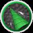 Emerald Drill Icon